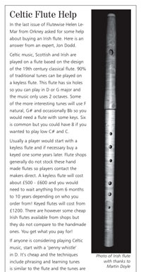 Flutewise article - click to see a larger version.