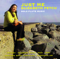 Elizabeth Petcu's debut album, Just Me.