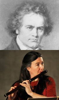 Ludwig von Beethoven and Elizabeth Petcu