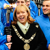 Lord Mayor of Dublin, Councillor Emer Costello