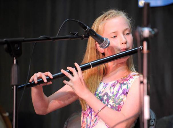 Ellen O'Brien playing her Martin Doyle flute