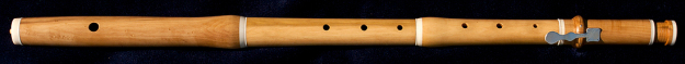 Martin Doyle Baroque Flute made of Boxwood