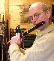 Martin Doyle Playing Flute