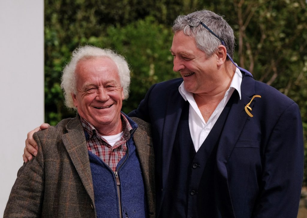 Christy Barry and Ronan Browne – photo taken by Martin Doyle
