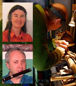 Martin Doyle, Desi Wilkinson and Elizabeth Petcu
