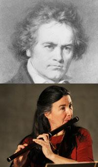 Ludwig von Beethoven and Elizabeth Petcu