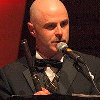 Irish flute player Garry Shannon