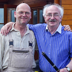 Martin Doyle and Cathal McConnell